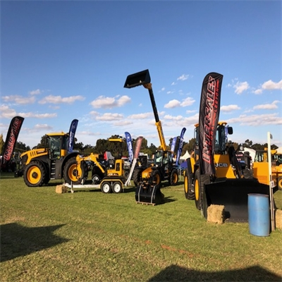 Come see the range of JCB onsite at the Riverina Field Days!